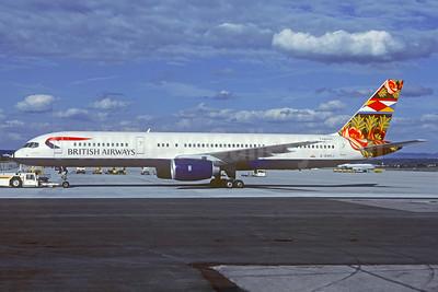 British Airways Boeing 757-236 G-BMRJ (msn 24268) (Grand Union - England) STR (Christian Volpati Collection). Image: 931356.