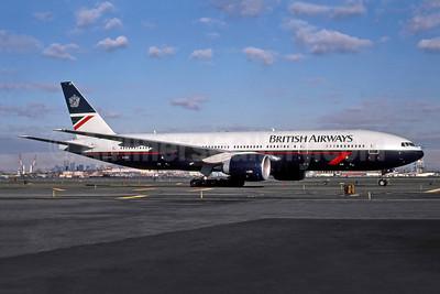 British Airways Boeing 777-236 ER G-VIIH (msn 27490) EWR (Rob Rindt Collection). Image: 947872.