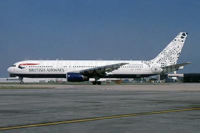 British Airways Boeing 767-336 ER G-BNWA (msn 24333) (Delftblue Daybreak - Netherlands) LHR (SPA). Image: 955479.
