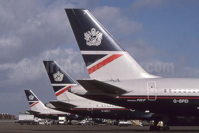 British Airways tail LHR (SPA). Image: 955484.