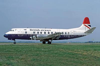 British Airways Vickers Viscount 806 G-APIM (msn 412) JER (Richard Vandervord). Image: 954442.