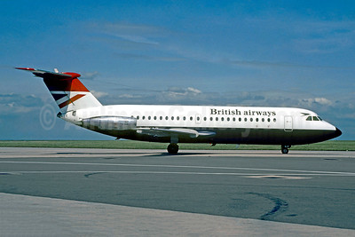 British Airways BAC 1-11 408EF G-AVGP (msn 114) CDG (Christian Volpati). Image: 907559.