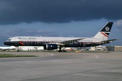 British Airways Boeing 757-236 G-BMRJ (msn 24268) LHR (SPA). Image: 930884.