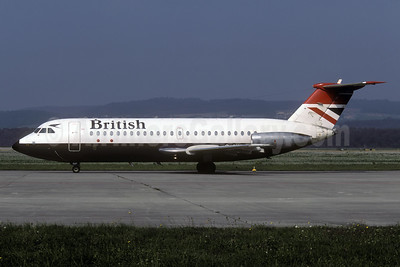 British Airways BAC 1-11 408EF G-AVGP (msn 114) ZRH (Rolf Wallner). Image: 935489.