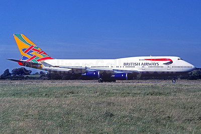 British Airways Boeing 747-436 G-CIVP (msn 28850) (Colum) (Christian Volpati Collection). Image: 932802.