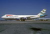 British Airways Boeing 747-236B G-BDXD (msn 21241) (Blue Poole - England) LHR (Christian Volpati Collection). Image: 932792.