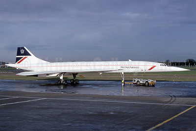 British Airways Aerospatiale-BAC Concorde 102 G-BOAA (msn 206) LHR (SPA). Image: 940268.