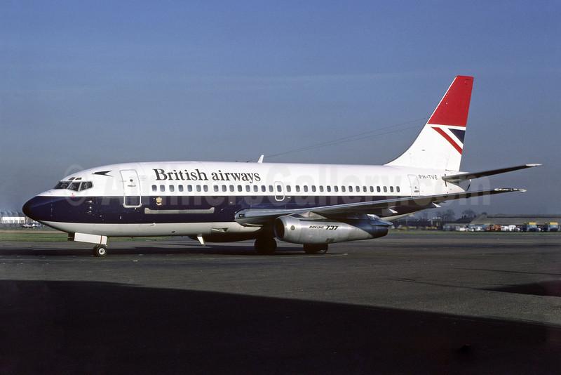 British Airways (Transavia Airlines) Boeing 737-2K2C PH-TVE (msn 20944) SEN (Richard Vandervord). Image: 912954.