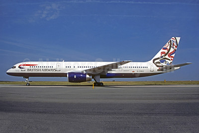 British Airways Boeing 757-236 G-CPEO (msn 28667) (Whale Rider - Canada) CDG (Christian Volpati). Image: 930645.