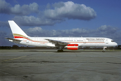 British Airways Boeing 757-28A G-OOOB (msn 23822) (Air 2000 colors) LHR (Christian Volpati Collection). Image: 939914.