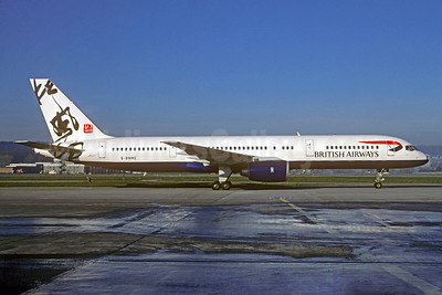British Airways Boeing 757-236 G-BMRE (msn 24074) (msn 24074) (Rendezvous - China) ZRH (Christian Volpati Collection). Image: 931352.