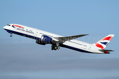 British Airways Boeing 787-9 Dreamliner G-ZBKO (msn 38631) PAE (Nick Dean). Image: 934935.