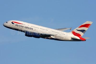 British Airways Airbus A380-841 G-XLEG (msn 161) LHR (SPA). Image: 933961.