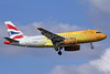 "British Airways Airbus A319-131 G-EUPC (msn 1118) (Our moment to shine - 2nd London Olympics logojet - ""Firefly"") LHR (Michael B. Ing). Image: 910120."