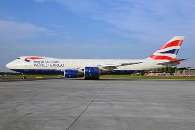 British Airways World Cargo (Global Supply Systems) (Atlas Air) Boeing 747-87UF G-GSSF (msn 37569) FRA (Ton Jochems). Image: 921988.