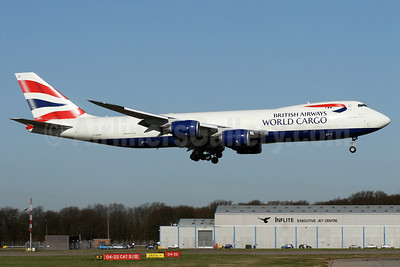 British Airways World Cargo (Global Supply Systems) (Atlas Air) Boeing 747-87UF G-GSSF (msn 37569) STN (Pedro Pics). Image: 908913.