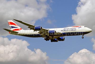 British Airways World Cargo (Global Supply Systems) (Atlas Air) Boeing 747-87UF G-GSSE (msn 37568) STN (Keith Burton). Image: 921988.
