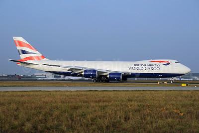 British Airways World Cargo (Global Supply Systems) (Atlas Air) Boeing 747-87UF G-GSSD (msn 37562) FRA (Bernhard Ross). Image: 907543.