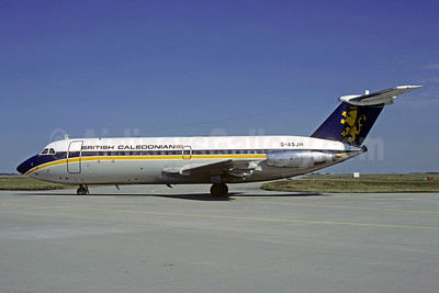 British Caledonian Airways BAC 1-11 201AC G-ASJH (msn 012) CDG (Christian Volpati). Image: 907582.