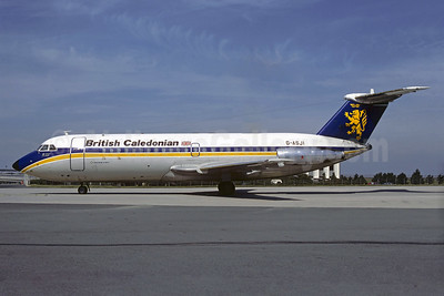 British Caledonian Airways BAC 1-11 201AC G-ASJI (msn 013) CDG (Christian Volpati). Image: 906466.