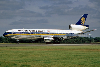 British Caledonian Airways McDonnell Douglas DC-10-30 G-BHDH (msn 47816) LGW (SM Fitzwilliams Collection). Image: 912986.