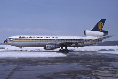 British Caledonian Charter McDonnell Douglas DC-10-10 G-BJZE (msn 46973) (Rob Rindt Collection). Image: 925507.