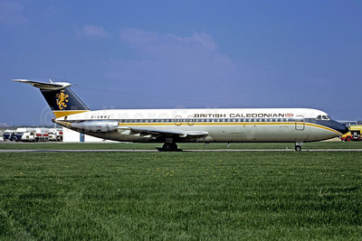 British Caledonian Airways BAC 1-11 509AW G-AWWZ (msn 186) CDG (Christian Volpati). Image: 912985.