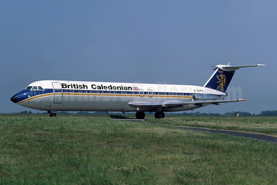 British Caledonian Airways BAC 1-11 515FB G-AZPZ (msn 229) JER (Richard Vandervord). Image: 952505.
