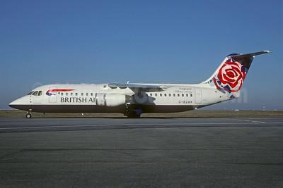 British Airways-CityFlyer Express BAe RJ100 (146-RJ100) G-BZAV (msn E3331) (Chelsea Rose - England) CDG (Christian Volpati). Image: 935981.