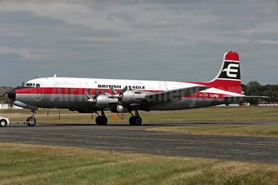 British Eagle International Airlines (Air Atlantique) Douglas DC-6A (msn 45497) FAB (Antony J. Best). Image: 902035.