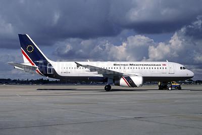British Mediterranean Airways Airbus A320-231 G-MEDA (msn 480) LHR (Christian Volpati Collection). Image: 949565.