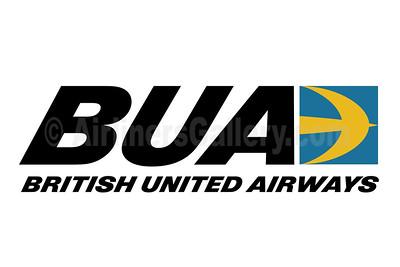 1. BUA - British United Airways logo