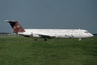 British World Airlines BAC 1-11 518FG G-OBWB (msn 202) LGW (SPA). Image: 954671.
