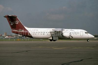 British World Airlines BAe 146-300 G-BTZN (msn E3149) LHR (SPA). Image: 955084.