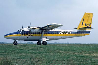 Brymon Airways de Havilland Canada DHC-6-300 Twin Otter G-BGMC (msn 617) JER (Richard Vandervord). Image: 949056.
