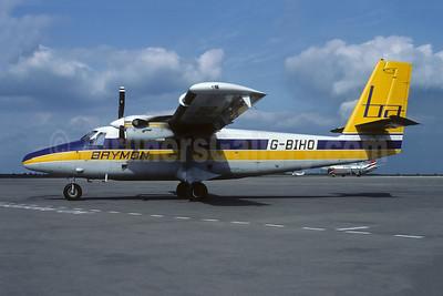 Brymon Airways de Havilland Canada DHC-6-300 Twin Otter G-BIHO (msn 738) JER (Richard Vandervord). Image: 944101.