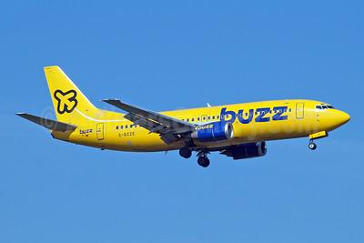 Buzz Boeing 737-3Q8 G-BZZE (msn 26310) STN (Jay Selman). Image: 403992.