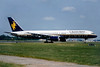 Caledonian Airways (2nd) Boeing 757-236 G-BPEF (msn 24120) LGW (SM Fitzwilliams Collection). Image: 913253.