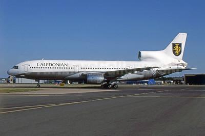 Caledonian Airways (2nd) (Air Atlanta Icelandic) Lockheed L-1011-385-1 TriStar 1 TF-ABE (msn 1022) LGW (SPA). Image: 954409.