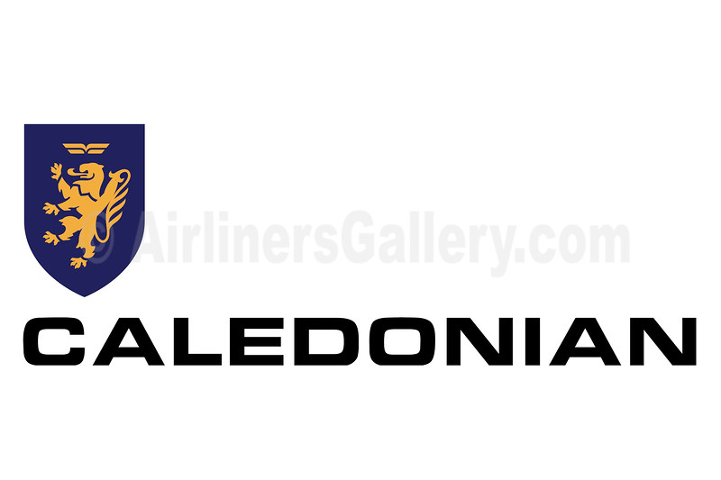 1. Caledonian Airways logo