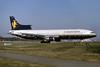 Caledonian Airways (2nd) Lockheed L-1011-385-1-14 TriStar 100 G-BBAJ (msn 1106) LGW (SPA). Image: 931812.