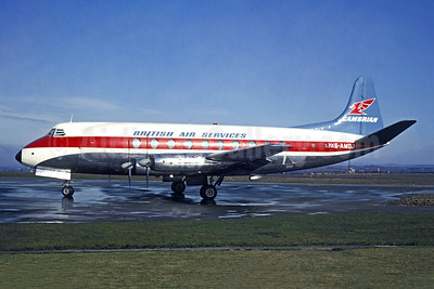 British Air Services - Cambrian Airways Vickers Viscount 701 G-AMOJ (msn 23) (Jacques Guillem Collection). Image: 948715.