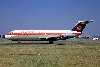 Cambrian Airways-British Air Services BAC 1-11 416EK G-AWBL (msn 132) LBG (Christian Volpati). Image: 948731.
