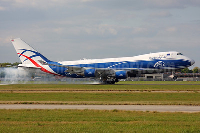 CargoLogicAir-CLA Boeing 747-428F ER G-CLBA (msn 32870) LHR (SPA). Image: 937656.