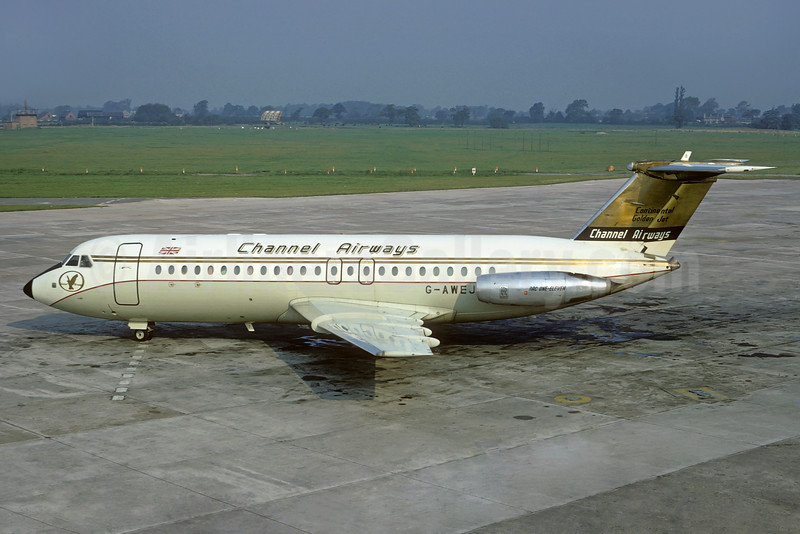 "One Eleven ""Continental Golden Jet"", delivered October 5, 1968"