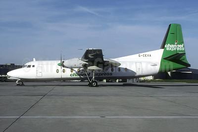 Channel Express Fokker F.27 Mk. 500 (F) G-CEXA (msn 10503) CDG (Christian Volpati). Image: 952951.
