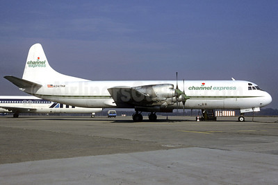 Channel Express Lockheed 188C (F) Electra N347HA (msn 1075) LIN (Christian Volpati Collection). Image: 911724.