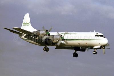 Channel Express Lockheed 188C (F) Electra N5539 (msn 1091) SEN (Keith Burton). Image: 922267.