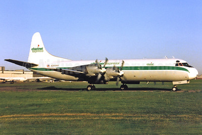 Channel Express Lockheed 188A (F) Electra N344HA (msn 1038) SEN (Keith Burton). Image: 911714.