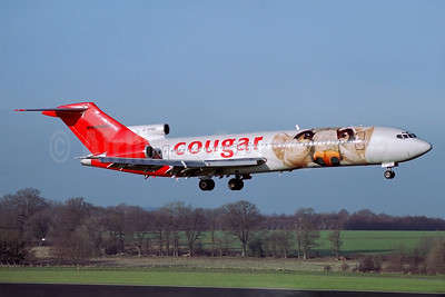 Cougar Airways Boeing 727-225 Super 27 G-OPMN (msn 21578) QLA (Antony J. Best). Image: 932423.